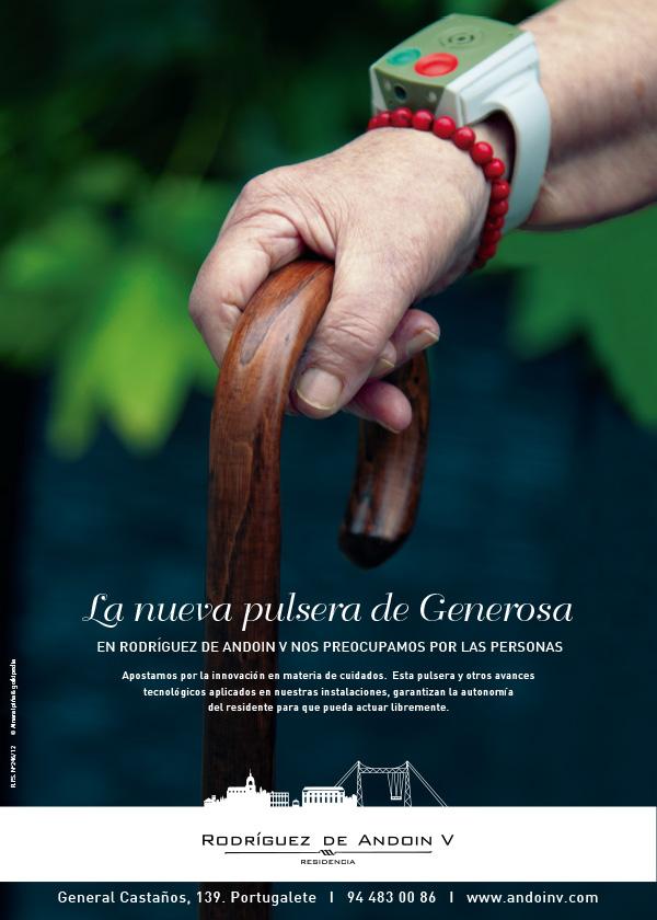 Estudio Ainara Ipiña fotografía comunicación Residencia Rodríguez Andoin V bastón